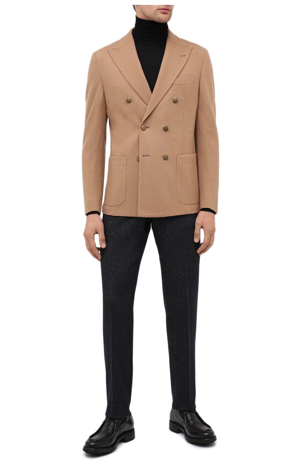 Мужские кожаные дерби ALEXANDER HOTTO черного цвета, арт. 58033/CANDY | Фото 2