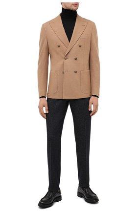 Мужской кожаные дерби ALEXANDER HOTTO черного цвета, арт. 58033/CANDY | Фото 2