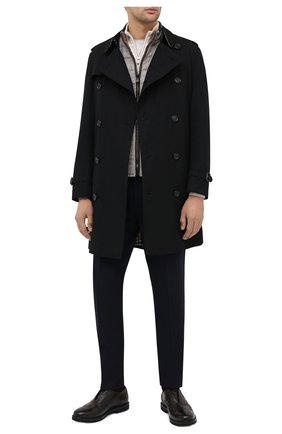 Мужские кожаные оксфорды ROCCO P. темно-коричневого цвета, арт. 7019/ANTIK | Фото 2