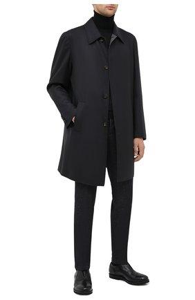Мужские кожаные оксфорды ROCCO P. черного цвета, арт. 7019/ANTIK | Фото 2