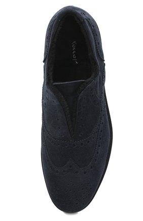Мужские замшевые оксфорды ROCCO P. темно-синего цвета, арт. 7019/SENS0RY | Фото 5
