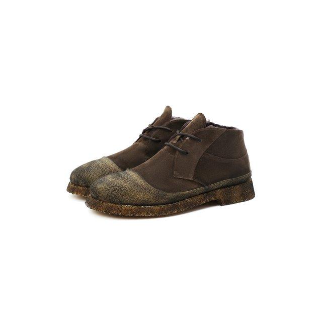 Комбинированные ботинки Rocco P..
