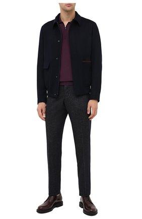 Мужское шерстяное поло SVEVO бордового цвета, арт. 1314/1ZSA20/MP13 | Фото 2