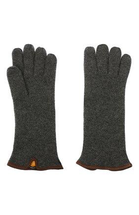 Мужские кашемировые перчатки SVEVO темно-серого цвета, арт. 0158USA20/MP01/2 | Фото 2