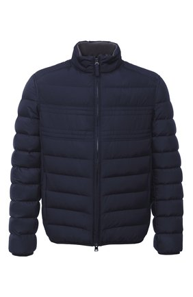 Мужская пуховая куртка BRIONI темно-синего цвета, арт. SUNB0L/08803 | Фото 1