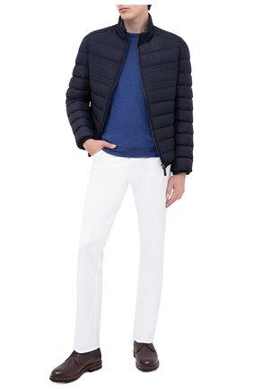 Мужская пуховая куртка BRIONI темно-синего цвета, арт. SUNB0L/08803 | Фото 2