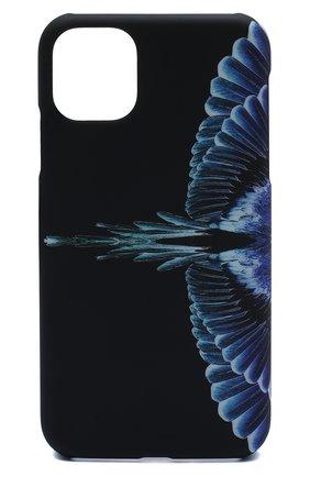 Мужской чехол для iphone 11 MARCELO BURLON черного цвета, арт. CMPA017E20MAT001 | Фото 1