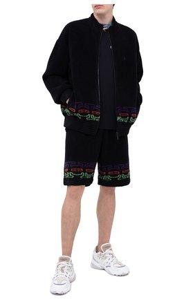Мужская толстовка MARCELO BURLON черного цвета, арт. CMEA151F20FAB002   Фото 2