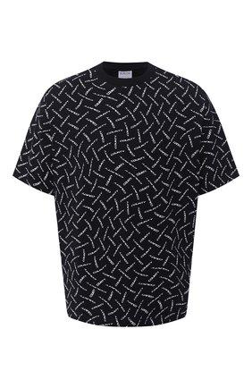 Мужская хлопковая футболка MARCELO BURLON черно-белого цвета, арт. CMAA054F20JER004 | Фото 1