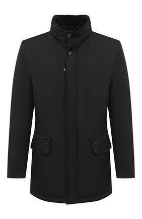 Мужская пуховая куртка bernier-ads MOORER черного цвета, арт. BERNIER-ADS/A20M240AMED | Фото 1