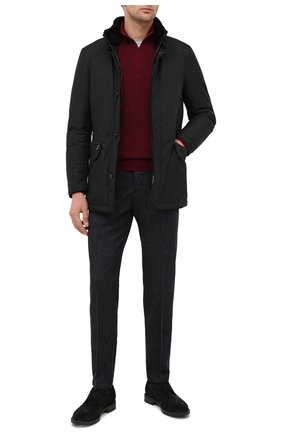 Мужская пуховая куртка bernier-ads MOORER черного цвета, арт. BERNIER-ADS/A20M240AMED | Фото 2