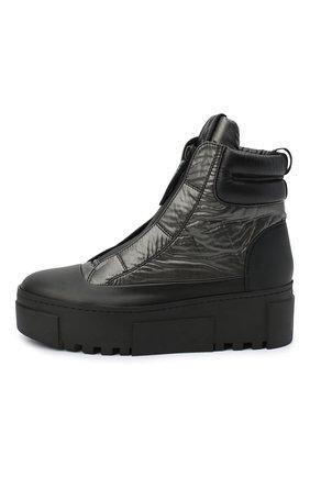 Женские комбинированные ботинки VIC MATIE черного цвета, арт. 1Y5038D.T16TZ0T330 | Фото 3