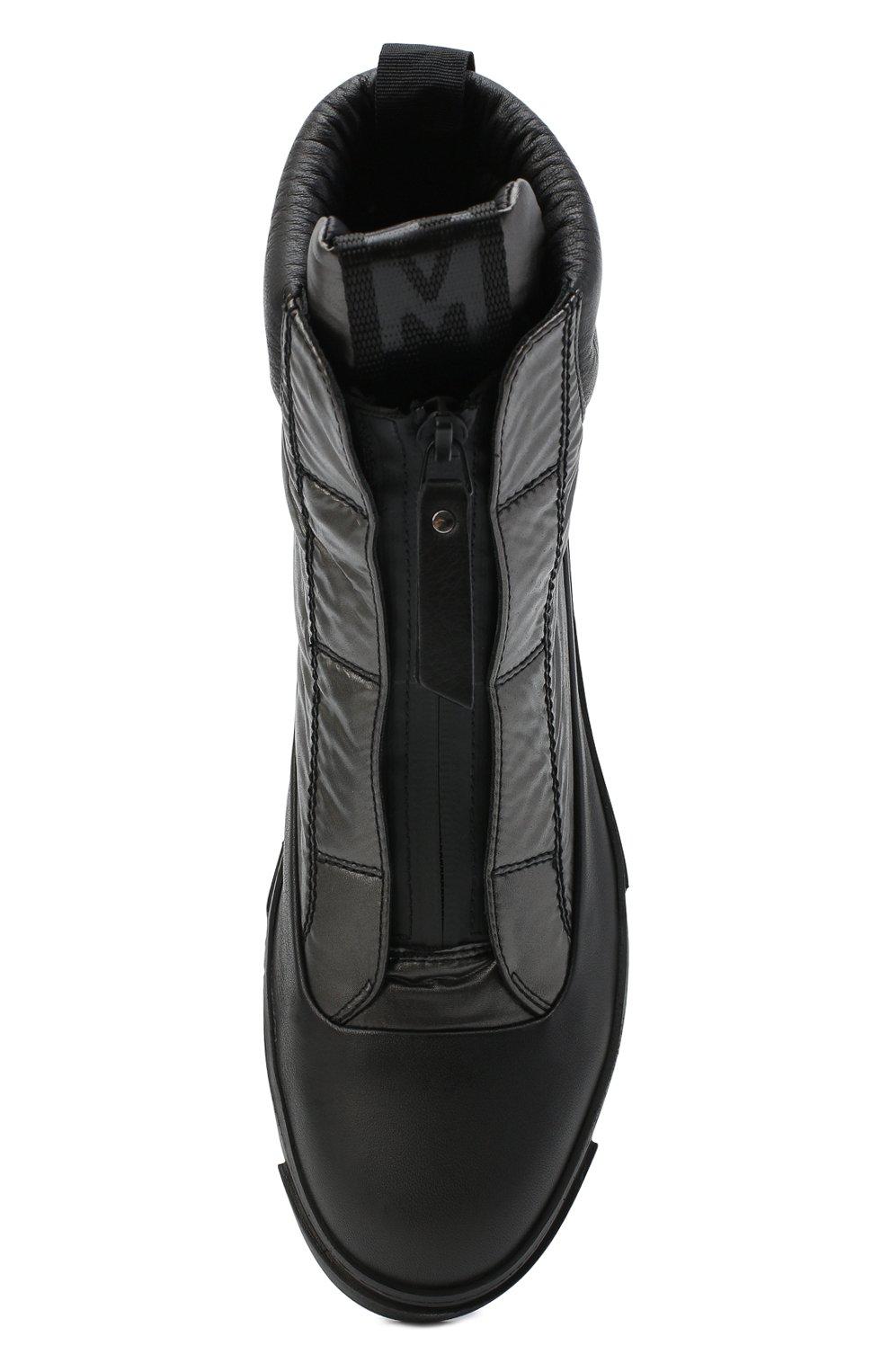 Женские комбинированные ботинки VIC MATIE черного цвета, арт. 1Y5038D.T16TZ0T330 | Фото 5