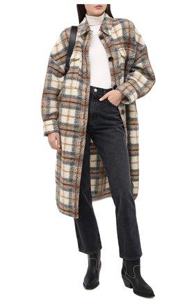 Женские джинсы AGOLDE серого цвета, арт. A095B-1157   Фото 2