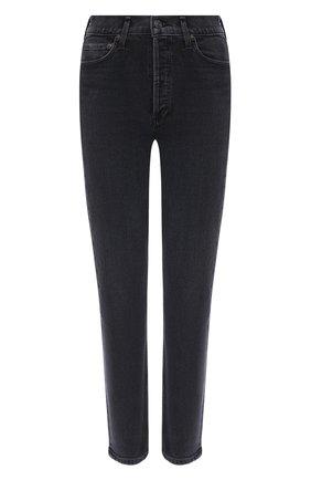 Женские джинсы AGOLDE серого цвета, арт. A093B-1084   Фото 1
