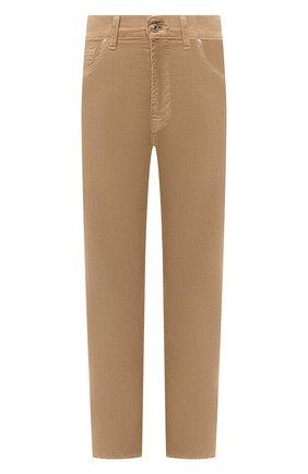 Женские брюки 7 FOR ALL MANKIND бежевого цвета, арт. JSA7V640SA | Фото 1