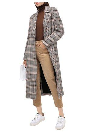 Женские брюки 7 FOR ALL MANKIND бежевого цвета, арт. JSA7V640SA | Фото 2
