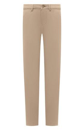 Женские хлопковые брюки 7 FOR ALL MANKIND бежевого цвета, арт. JSL4X190SA | Фото 1