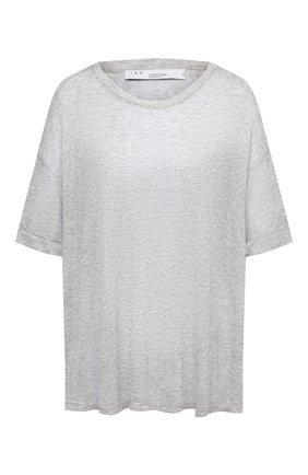 Женская футболка из вискозы IRO светло-серого цвета, арт. WP19BANG | Фото 1
