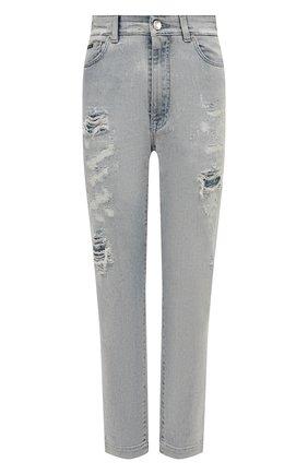 Женские джинсы DOLCE & GABBANA голубого цвета, арт. FTBXHD/G8CT1 | Фото 1