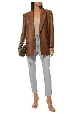 Женские джинсы DOLCE & GABBANA голубого цвета, арт. FTBXHD/G8CT1 | Фото 2