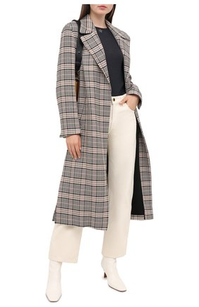 Женская кашемировый пуловер LORENA ANTONIAZZI темно-синего цвета, арт. A20100TM003/243   Фото 2