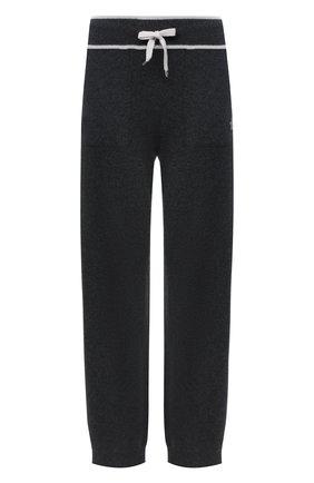 Женские кашемировые брюки LORENA ANTONIAZZI темно-серого цвета, арт. A20113PM002/117   Фото 1