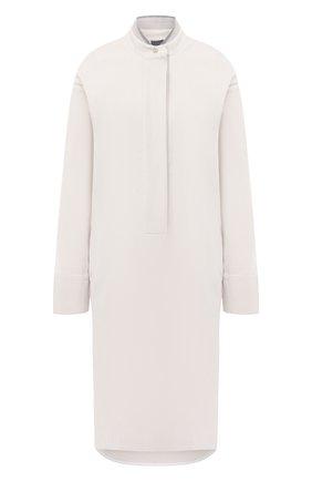 Женское шерстяное платье LORENA ANTONIAZZI кремвого цвета, арт. A2044AB009/3068 | Фото 1