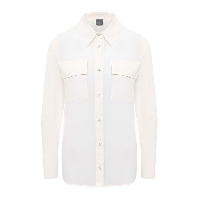 Шелковая рубашка Lorena Antoniazzi