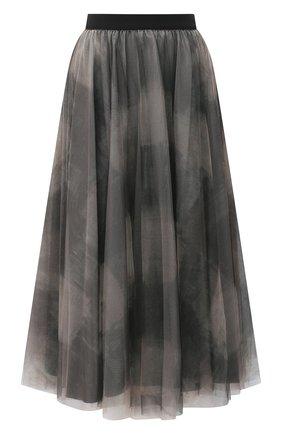 Женская юбка-миди LORENA ANTONIAZZI бежевого цвета, арт. A2058G0020/3313   Фото 1