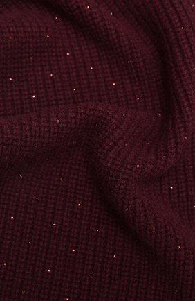 Мужские кашемировый шарф WILLIAM SHARP бордового цвета, арт. A111-1 | Фото 2
