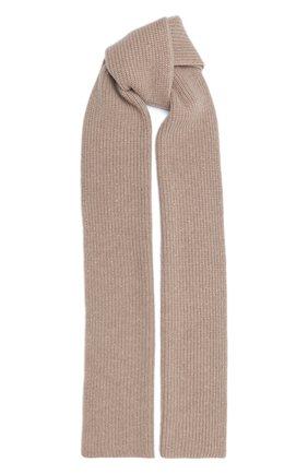 Женский кашемировый шарф WILLIAM SHARP бежевого цвета, арт. A111-1   Фото 1