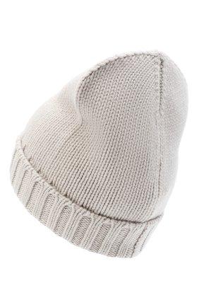 Женский кашемировая шапка MOORER серого цвета, арт. BERRETT0 F0R HER-CWS/A20MA11CASH | Фото 2