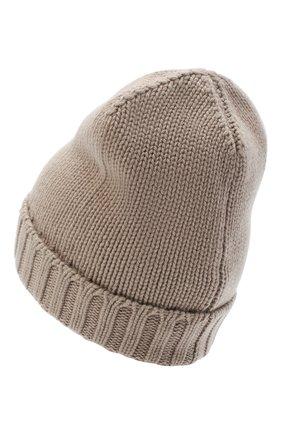 Женский кашемировая шапка MOORER бежевого цвета, арт. BERRETT0 F0R HER-CWS/A20MA11CASH | Фото 2