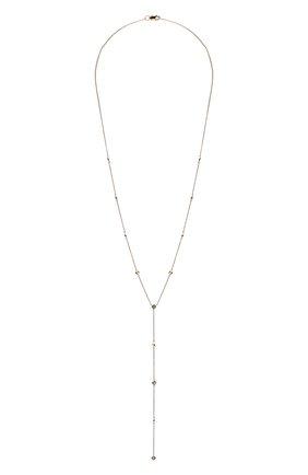 Женское колье J-POINT серебряного цвета, арт. ИПГ857.12.190220.48P   Фото 1