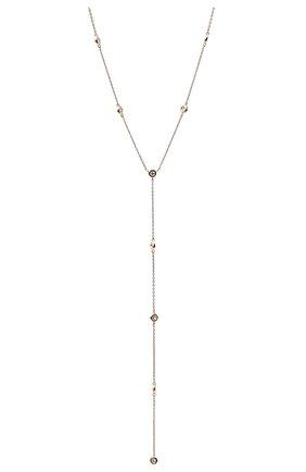 Женское колье J-POINT серебряного цвета, арт. ИПГ857.12.190220.48P   Фото 2