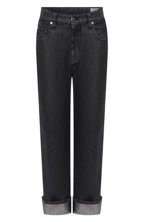 Женские джинсы BRUNELLO CUCINELLI темно-серого цвета, арт. MA176P5611 | Фото 1