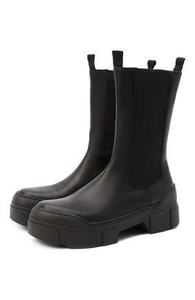 Женские кожаные ботинки VIC MATIE черного цвета, арт. 1Y5094D.V14Y060101 | Фото 1