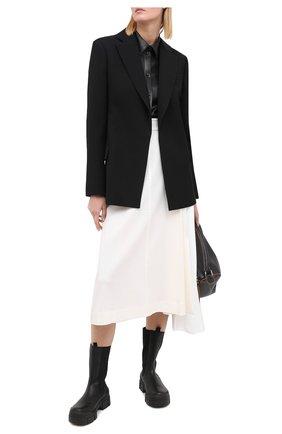 Женские кожаные ботинки VIC MATIE черного цвета, арт. 1Y5094D.V14Y060101 | Фото 2