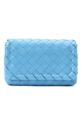 Женская сумка BOTTEGA VENETA синего цвета, арт. 609412/VCPP5 | Фото 1