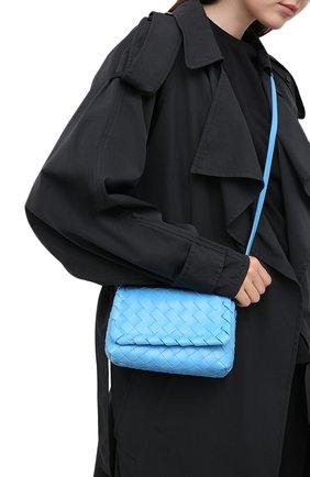 Женская сумка BOTTEGA VENETA синего цвета, арт. 609412/VCPP5 | Фото 2