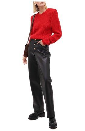 Женский шерстяной свитер ISABEL MARANT красного цвета, арт. PU1385-20A041I/ERIN | Фото 2