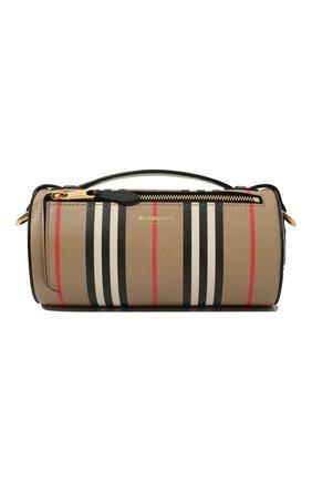 Женская сумка barrel BURBERRY бежевого цвета, арт. 8030456 | Фото 1