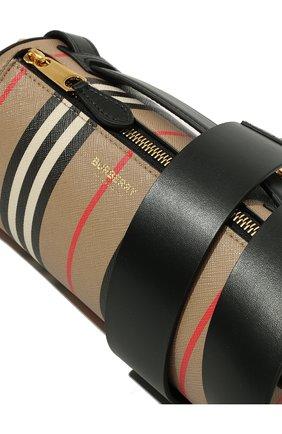 Женская сумка barrel BURBERRY бежевого цвета, арт. 8030456 | Фото 2
