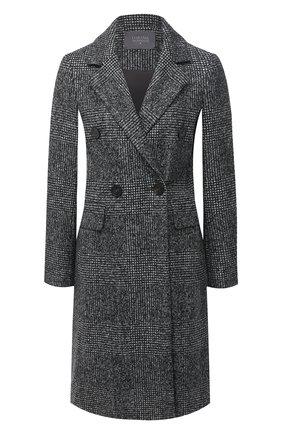 Женское шерстяное пальто LORENA ANTONIAZZI черного цвета, арт. A2009CP037/3296   Фото 1