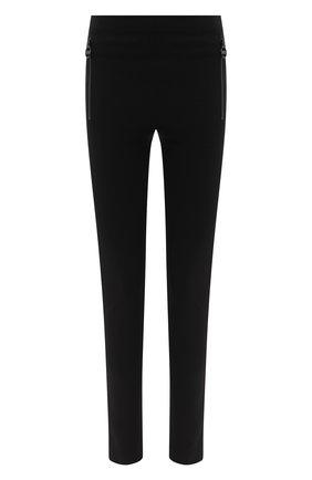 Женские леггинсы EMILIO PUCCI черного цвета, арт. 0RRT36/0R624 | Фото 1