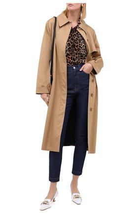 Женские джинсы DOLCE & GABBANA синего цвета, арт. FTBXHD/G8DA1 | Фото 2
