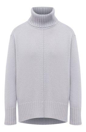 Женский кашемировый свитер LORENA ANTONIAZZI светло-серого цвета, арт. A20120FM018/117 | Фото 1