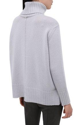 Женский кашемировый свитер LORENA ANTONIAZZI светло-серого цвета, арт. A20120FM018/117 | Фото 4