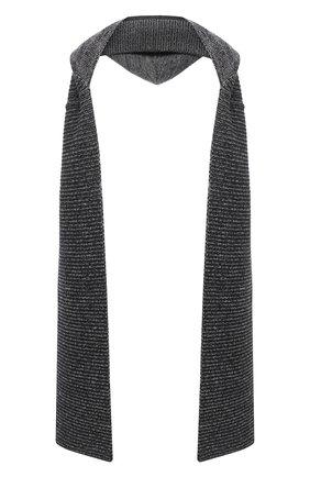 Мужские шарф LORENA ANTONIAZZI темно-синего цвета, арт. A20153SP015/204   Фото 1